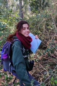 Estudiando rapaces forestales